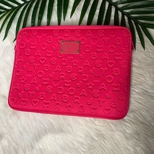 NWOT Marc by Marc Jacobs Pink Laptop Case
